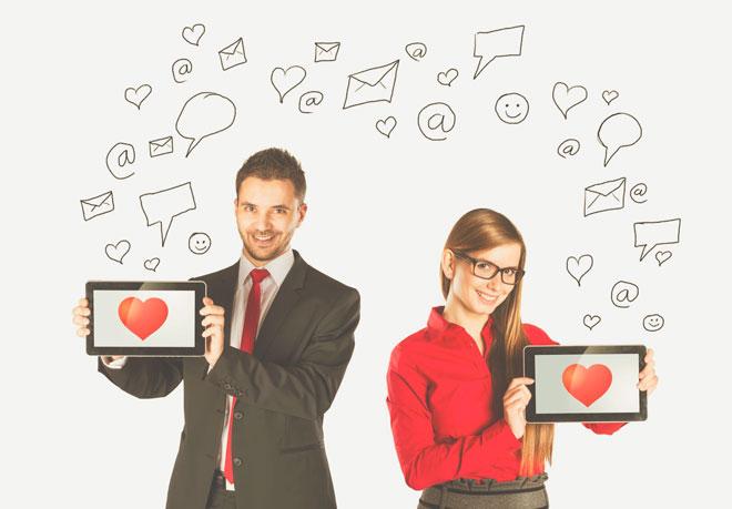 Любовь в социальной сети