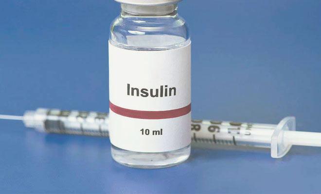 Ампула с инсулином