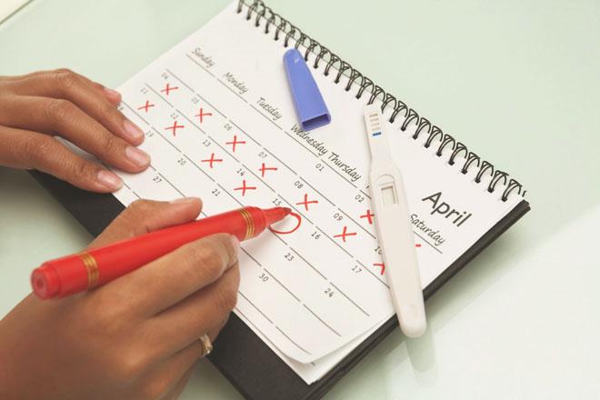 Календарь женского цикла