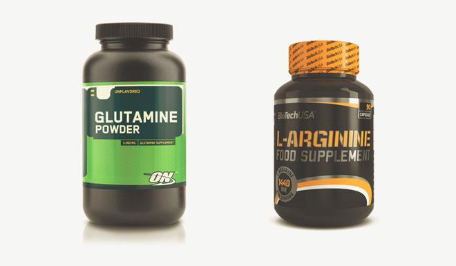 Препараты L-Arginin и Glutamine