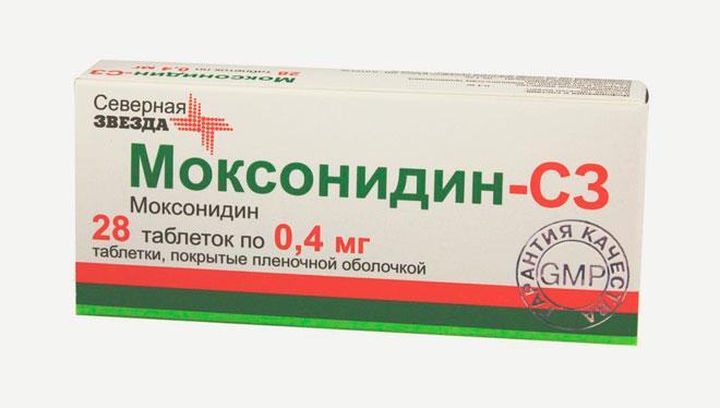 Препарат Моксонидин