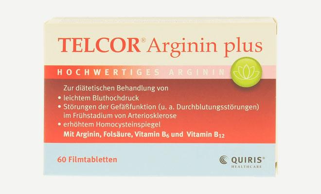 Препарат Telcor Arginin Plus